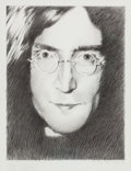 Music Memorabilia:Original Art, John Lennon: Charcoal Drawing by Legendary Artist Stanley Mouse,Original Art. ...