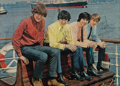 Music Memorabilia:Autographs and Signed Items, Merseybeats Signed Photo....