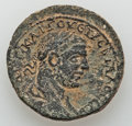 Ancients:City Coins, Ancients: Neapolis, Samaria. Trebonianus Gallus (251 - 253 AD). AE26mm (13.61 gm). ...