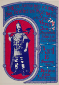 Music Memorabilia:Posters, Big Brother and the Holding Company Stockton Concert Poster(S&P Co., 1967)....