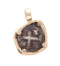 Estate Jewelry:Pendants and Lockets, Ancient Coin, Gold Pendant. ...