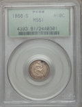 Seated Half Dimes: , 1868-S H10C MS61 PCGS. PCGS Population (6/62). NGC Census: (5/94). Mintage: 280,000. Numismedia Wsl. Price for problem free...