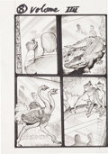Original Comic Art:Miscellaneous, Simon Bisley Tower Chronicles #4 Page 8 Original Art(Legendary, 2013)....
