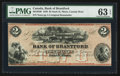 Canadian Currency: , Sault St. Marie, CW- Bank of Brantford $2 Nov. 1, 1859 Ch. #40-12-04R Remainder. ...