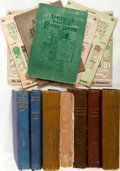 Books:Periodicals, Group of Fourteen Items from The American AmateurPhotographer. Bound volumes and periodicals. Late nineteenthand e... (Total: 8 Items)