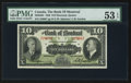 Canadian Currency: , Montreal, PQ- Bank of Montreal $10 Jan. 3, 1938 Ch. # 505-62-04....