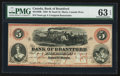 Canadian Currency: , Sault St. Marie, CW- Bank of Brantford $5 Nov. 1, 1859 Ch. #40-12-08R Remainder. ...