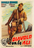 "Movie Posters:War, International Squadron (Warner Brothers, 1949). First Post-War Release Italian 2 - Foglio (39"" X 55"").. ..."
