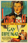 "Movie Posters:Documentary, The Gay Diplomat (RKO, 1931). One Sheet (27"" X 41"").. ..."
