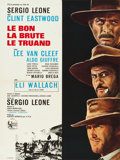 "Movie Posters:Western, The Good, the Bad and the Ugly (United Artists, 1968). French Affiche (22.75"" X 30.25"").. ..."