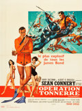 """Movie Posters:James Bond, Thunderball (United Artists, 1965). French Affiche (22.75"""" X30.75"""").. ..."""