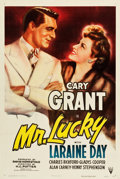 "Movie Posters:Romance, Mr. Lucky (RKO, 1943). One Sheet (27"" X 41"").. ..."