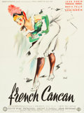 """Movie Posters:Musical, French Cancan (Gaumont, 1955). French Affiche (23.5"""" X 31.75"""")....."""