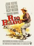 "Movie Posters:Western, Rio Bravo (Warner Brothers, 1959) German A1 (24"" X 33"").. ..."