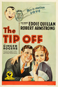 """Movie Posters:Comedy, The Tip-Off (RKO-Pathé Distributing, 1931). One Sheet (27"""" X 41"""")....."""