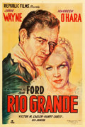"Movie Posters:Western, Rio Grande (Republic, 1951). Argentinean Poster (29"" X 43""). Western.. ..."