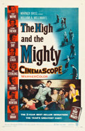 "Movie Posters:Adventure, The High and the Mighty (Warner Brothers, 1954). One Sheet (27"" X41"").. ..."