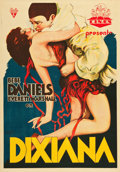 "Movie Posters:Musical, Dixiana (RKO, 1930). Spanish One Sheet (27.5"" X 39.5"").. ..."