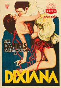 "Dixiana (RKO, 1930). Spanish One Sheet (27.5"" X 39.5"")"