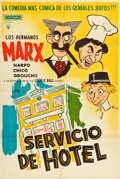 """Movie Posters:Comedy, Room Service (RKO, R-1950s). Spanish One Sheet (28"""" X 42""""). Comedy.. ..."""