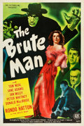 "Movie Posters:Horror, The Brute Man (PRC, 1946). One Sheet (27.25"" X 41"").. ..."