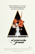 "Movie Posters:Science Fiction, A Clockwork Orange (Warner Brothers, 1971). One Sheet (27"" X 40.5"")X-Rated Style.. ..."