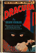 "Movie Posters:Horror, Dracula (Grosset & Dunlap, 1931). Photoplay Book (354 Pages,5.5"" X 7.5"").. ..."