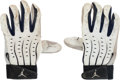 Baseball Collectibles:Others, Circa 2008 Derek Jeter Game Used Batting Gloves, Wrist Guard &Wristbands. ...