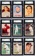 Baseball Cards:Sets, 1957 Topps Baseball Mid to High Grade Collection (92) With ManyStars & HoFers. ...