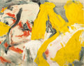Prints:Contemporary, WILLEM DE KOONING (American, 1904-1997). The Man and the BigBlonde, 1982. Offset lithograph in colors. 21-1/4 x 26-7/8 ...