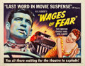 "Movie Posters:Foreign, Wages of Fear (DCA, 1955). Half Sheet (22"" X 28"").. ..."