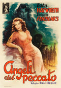 "Movie Posters:Drama, Angels Over Broadway (Columbia, 1947). First Post-War ReleaseItalian 4 - Foglio (55"" X 77.5"").. ..."