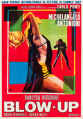 "Movie Posters:Thriller, Blow-Up (MGM, 1967). Italian 4 - Foglio (55"" X 78"").. ..."