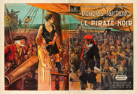 "The Black Pirate (United Artists, 1926). French Double Grande (63"" X 90"")"
