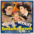 "Movie Posters:Comedy, Kentucky Kernels (RKO, 1934). Six Sheet (80"" X 80"").. ..."