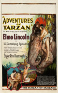 "Movie Posters:Serial, The Adventures of Tarzan (Numa, 1921). Window Card (14"" X 22"").. ..."