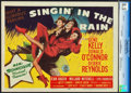 """Movie Posters:Musical, Singin' in the Rain (MGM, 1952). CGC Graded Title Lobby Card (11"""" X14"""").. ..."""