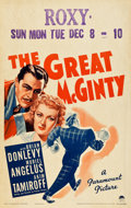 """Movie Posters:Comedy, The Great McGinty (Paramount, 1940). Window Card (14"""" X 22"""").Comedy.. ..."""
