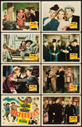 "Movie Posters:Comedy, Jitterbugs (20th Century Fox, 1943). Lobby Card Set of 8 (11"" X14"").. ... (Total: 8 Posters)"