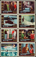 "Movie Posters:Film Noir, Niagara (20th Century Fox, 1953). Lobby Card Set of 8 (11"" X 14"")..... (Total: 8 Items)"