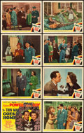 "Movie Posters:Mystery, The Thin Man Goes Home (MGM, 1945). Lobby Card Set of 8 (11"" X14"").. ... (Total: 8 Items)"