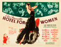 "Movie Posters:Drama, Hotel for Women (20th Century Fox, 1939). Half Sheet (22"" X 28"")Style A.. ..."