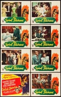 """The Spiral Staircase (RKO, 1945). Lobby Card Set of 8 (11"""" X 14""""). ... (Total: 8 Items)"""