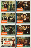"Movie Posters:Comedy, My Little Chickadee (Universal, 1940). Lobby Card Set of 8 (11"" X14"").. ... (Total: 8 Items)"