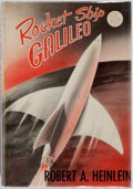Books:Science Fiction & Fantasy, Robert A. Heinlein. Rocket Ship Galileo. New York: Scribner's, [1947]. First edition with A and Scribner's seal on c...