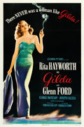 "Movie Posters:Film Noir, Gilda (Columbia, 1946). One Sheet (27.5"" X 41"") Style B.. ..."