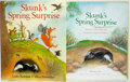 Books:Children's Books, Leslea Newman. SIGNED. Skunk's Spring Surprise. Illustratedby Valeri Gorbachev. Harcourt, 2007. First edition. ...