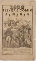 Books:Americana & American History, [Almanac]. Fisher's Comic Almanac. Philadelphia: Fisher andBrother, 1853. Octavo. Engravings throughout. String bou...
