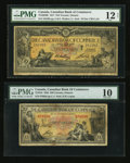 Canadian Currency: , Toronto, ON- The Canadian Bank of Commerce $10 Jan. 2, 1917 Ch. # 75-16-04-08 and $20 Jan. 2, 1935 Ch. # 75-18-10. ... (Total: 2 notes)