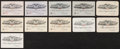Baseball Collectibles:Others, 1942-1967 Collection of Eleven American League Seasons Passes. ...